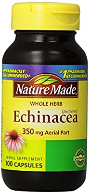 Nature Made Echinacea Herb Supplement, 350 mg, 100 Count by Pharmavite