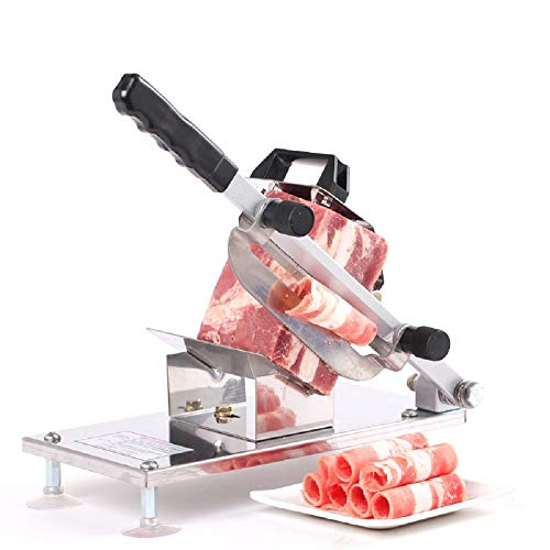 Meat Slicer Automatically Deliver Meat Lamb Slicer Manual Cutting Machine Commercial
