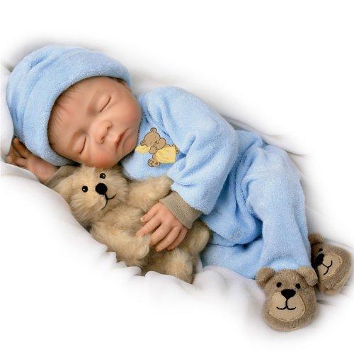 Sweet Dreams, Baby Jacob: So Truly Real 18-Inch Realistic Lifelike Baby Boy Doll by Ashton Drake (Ashton Drake Dolls Boy)