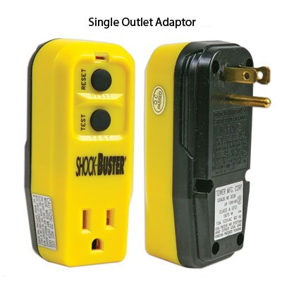 gfci outlet adapters single outlet adapter plug adapters amazon com rh amazon com