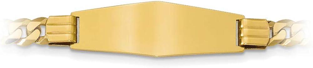 Brilliant Bijou Titanium 14k Yellow Inlay 10mm Polished Band