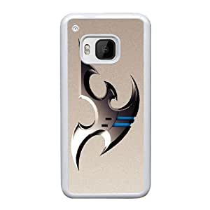 HTC One M9 Cell Phone Case White Starcraft 2 Protoss BF5982584