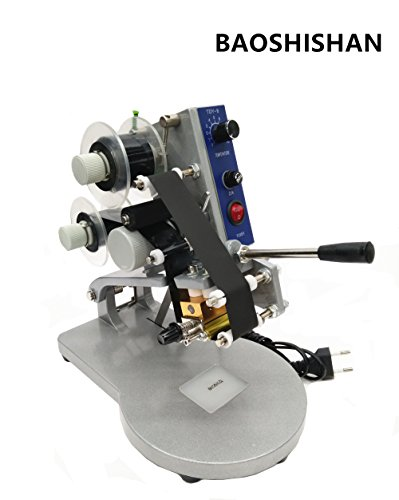 DY-8 Manual Hand Operated Hot Stamp Printer Coding Machin...