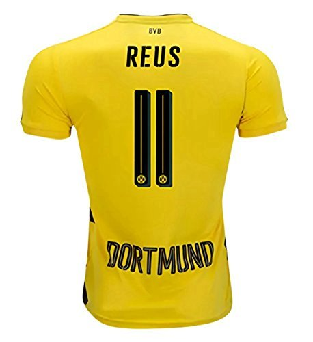 2017/2018 Borussia Dortmund Reus 11 Home Soccer Jersey Mens Yellow Size - Shirt Dortmund Borussia