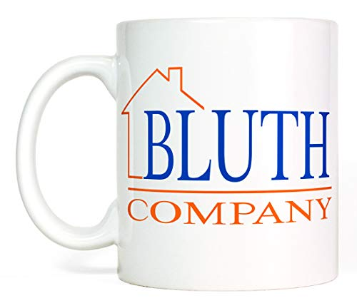 Most Toasty Funny Bluth Company Logo Ceramic Coffee Mug Novelty Gift, 11 Ounce, White
