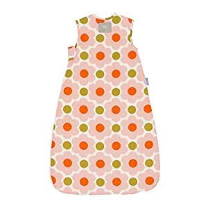 The Gro Company Grobag 2.5 Tog Daisy Spot Flower Orla Kiely Sleeping Bag for 6-18 Months Baby