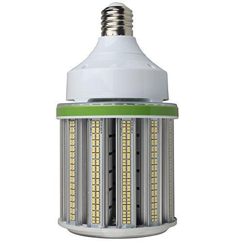 (125W Led Corn Bulb, Mogul E39 Base LED bulb, 5000K Shortest LED Corn Light 16800Lm Equivalence to 400W-500W Metal Halide HID CFL HPS for Shoebox Pole High Bay Parking Lot Wall Pack Lighting Fixture)