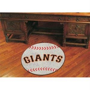 (Fanmats San Francisco Giants Baseball Mat - 6539)
