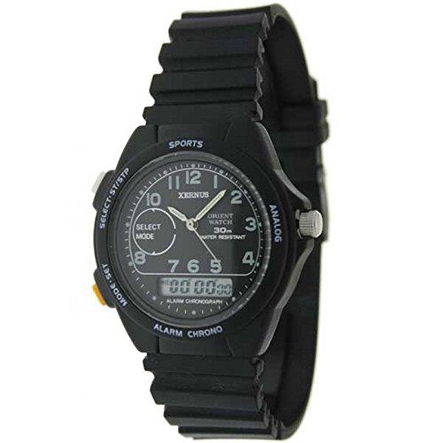 Orient Watch 801414-a-b Reloj Analogico/Digital para Mujer Colección Xernus Caja De Resina Esfera Color Negro: Amazon.es: Relojes