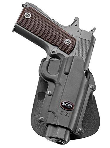 Fobus neu verdeckte Trage Pistolenhalfter Halfter Holster für die meisten Colt 1911 Style Pistolen ohne Schiene Pistolen / Browning Hi-Power, Mark III 4 & 5mm / FN High Power, FN Forty-Nine / Kahr MK9