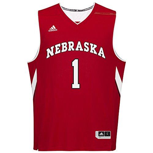 NCAA Nebraska Cornhuskers Men's Replica Jersey, Large, Red ()