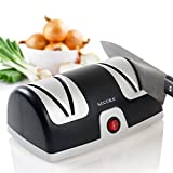 Secura Electric Knife Sharpener 2-Stage Kitchen Knives Sharpening System (2-year warranty)