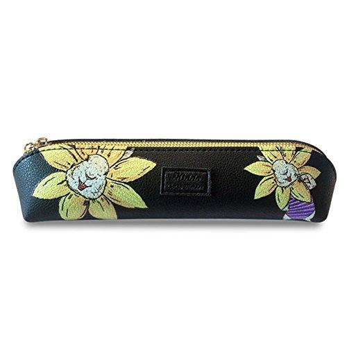 rganizer Case Stationery Pouch Bag Coin Purse Pouch Case Cosmetic Makeup Bag (Purple Rabbit) ()