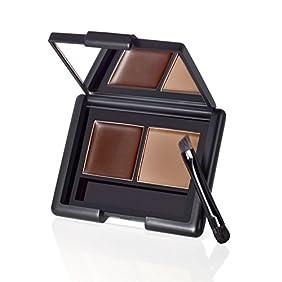 E.L.F. Cosmetics, Eyebrow Kit, Gel - Powder, Medium, 0.12 oz (3.5 g)