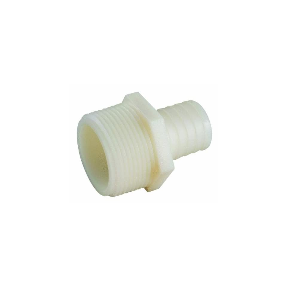 Anderson Metals Corp Inc 53701 0612 Nylon Male Connector (Pack of 10)