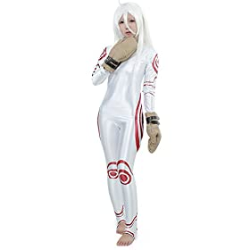 - 41 2BiDM8j1uL - Miccostumes Women's Deadman Wonderland Shiro Cosplay Costume