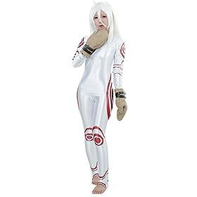 - 41 2BiDM8j1uL - Miccostumes Women's Deadman Wonderland Shiro Cosplay Costume