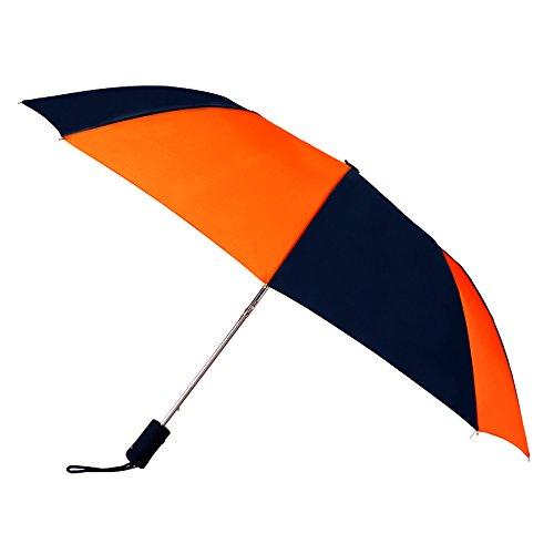 navy-blue-orange-compact-windproof-auto-open-umbrella-sleeve-with-warranty
