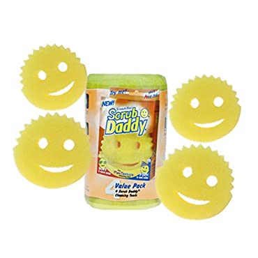 Scratch Free Scrub Daddy (Pack of 4)