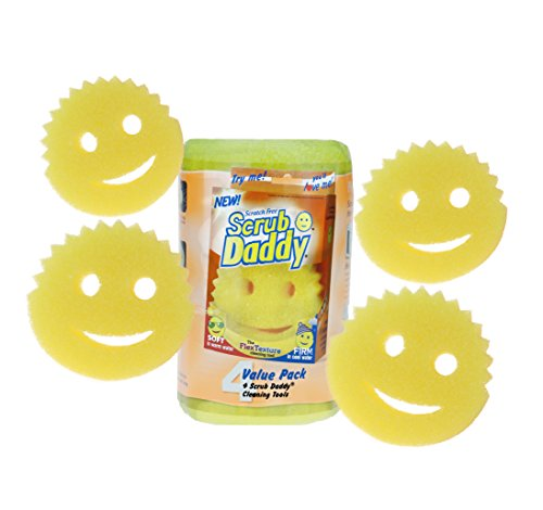 Price comparison product image Scratch Free Scrub Daddy (Pack of 4)