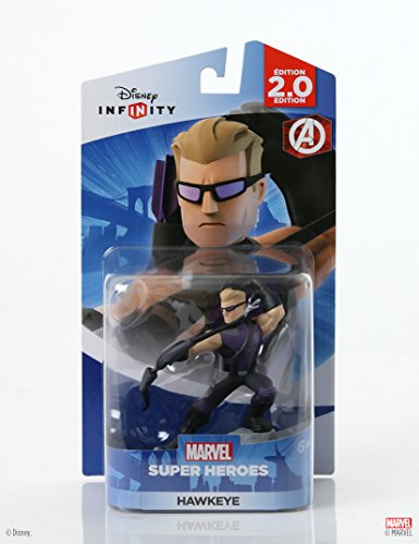 Disney Infinity: Marvel Super Heroes (2.0 Edition) Hawkeye Figure - Not Machine Specific (The Best Disney Characters)