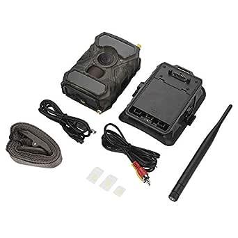 Trail Camera, Infrared Waterproof 1080P Outdoor Hunting Trail Camera High Sensitivity Wildlife Night Vision Hunting Trail Camera