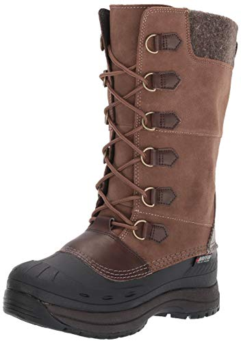 s Marli Snow Boot, Brown, 9 Medium US ()