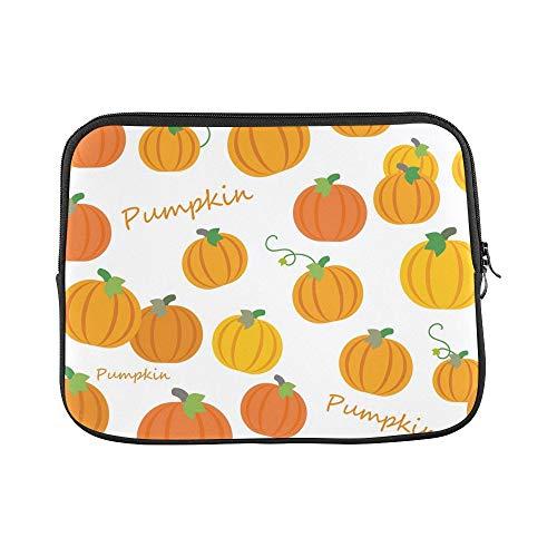 Design Custom Halloween Pumpkin Wallpaper Sleeve Soft Laptop
