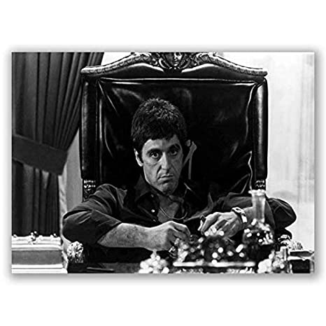 SCARFACE MOVIE POSTER AL PACINO CLASSIC FILM A3 PRINT IMAGE