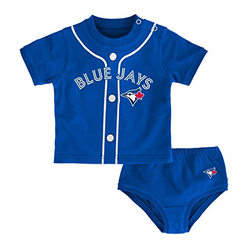 (MLB Toronto Blue Jays Newborn Boys Little Player-0/3 Months, Deep Royal)