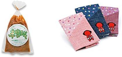 [2点セット] 辛唐みそ(130g)・おねがいさるぼぼ カードケース【ピンク】