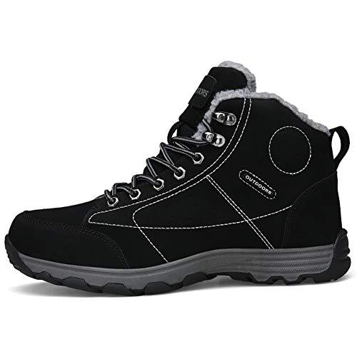 Marron Confortable Fexkean Chaussures Homme Imperméable Adventurer 46 Sports Kaki Randonnée Boots Noir1 De Plein Respirant Et Noir 38 AFOzqwAC
