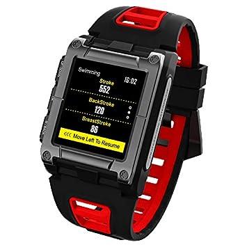 ZY S929 Reloj Inteligente Natación Círculo Reconocimiento De Movimiento Automático GPS Deportes IP68 A Prueba De Agua,Red: Amazon.es: Deportes y aire libre