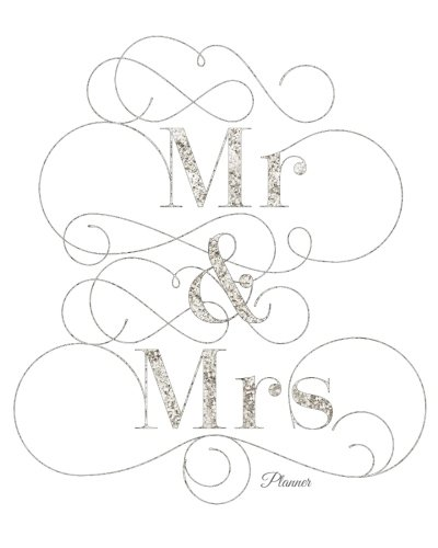 Mr & Mrs Planner: Silver Design  My To Do List Journal: Plan your day ahead To use at home, office and more 100 pages 8x10in Large pdf