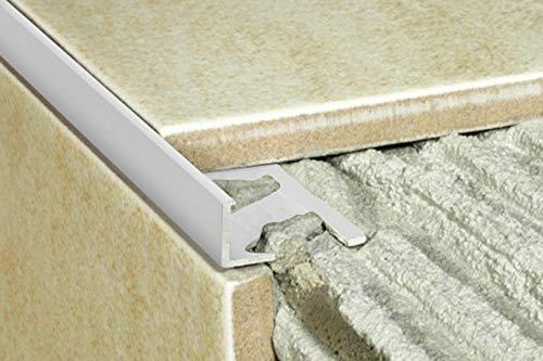 2 Meters Annodized Aluminum Tiles Sidebar Alu Profile Tile Trim Rail 12mm A52 – Silverware