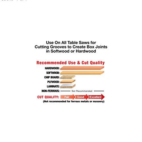 """Freud 8"""" x 20T Box Joint Cutter Set (SBOX8)"""