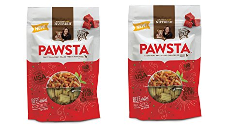 Rachael Ray Nutrish Pawsta Dog Treats, Riggies Stuffed with