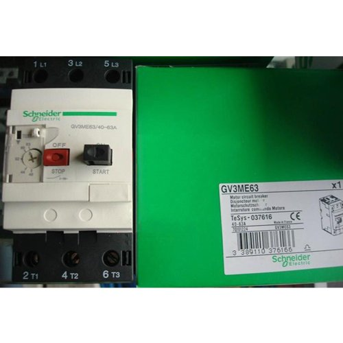 Schneider Telemecanique Motor Circuit Breaker GV3ME63 40-63A ()