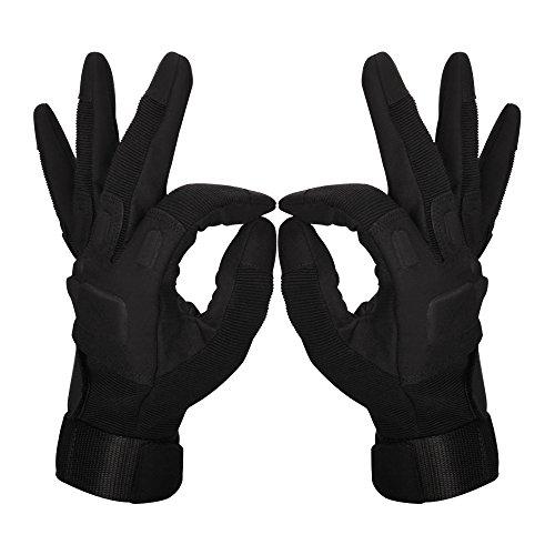 Oziral Gants Tactiques, Plein-Doigt Unisexe, Complet Protection Auto Moto, Camping, Randonné, Vélo ou d'autres Activités… 2
