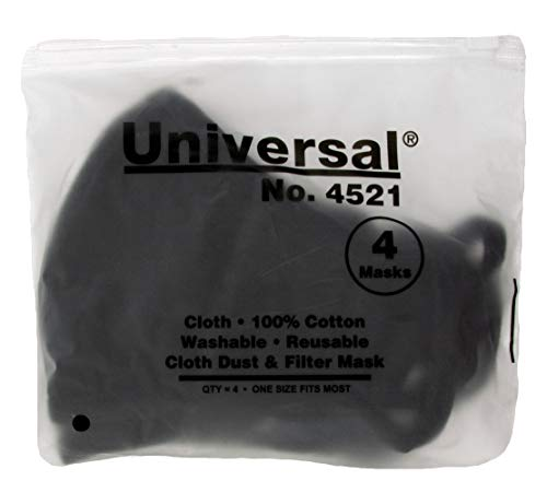 Universal 4521 Anti Flu Masks – 100% Cotton, Washable, Reusable Cloth Masks – Protection from Colds & Flu, Dust, Pollen,...