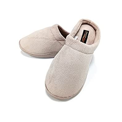 Miracle Slipper Gel Producto Oficial, Zapatillas de estar Por casa Unisex con propiedades antifatiga, Antideslizantes y con Plantillas amortiguadoras de Gel. Las únicas Originales (M, Taupe)