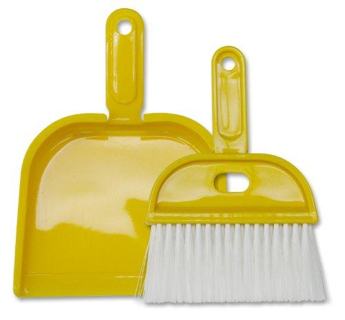 whisk dust pan