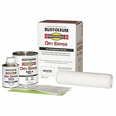 Rust-oleum Professional Dry Erase Kit Bright White