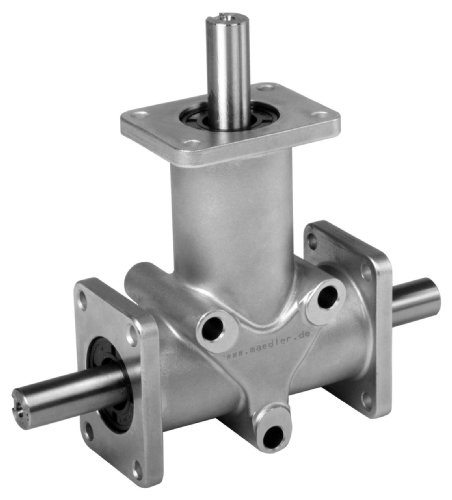 I2 Shaft - Bevel gearbox DZR size 2 version B i=2:1 housing and shafts stainless steel