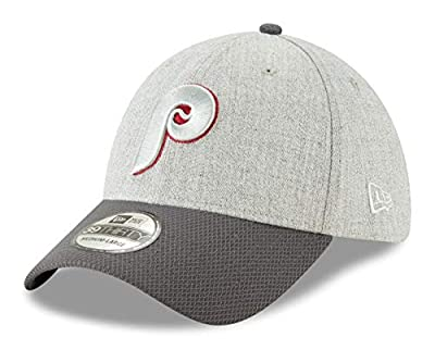 New Era Philadelphia Phillies 39THIRTY Cooperstown Change Up Redux Gray Hat