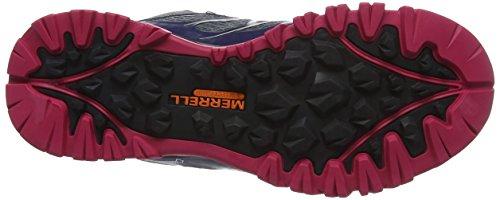 Multicolore Randonnée Mid Tex Chaussures Capra Plum Plumeria Merrell Bolt de Gore Femme Hautes wRvpq4