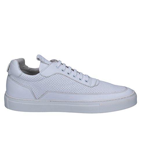 Veau Pelle Blanc Mercury Homme Sneaker Vaio 774m Di Mariano BwgUq0fU