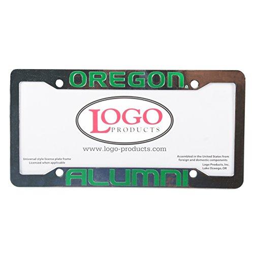 Logo Products Oregon Ducks Alumni Chrome Plastic License Plate ()