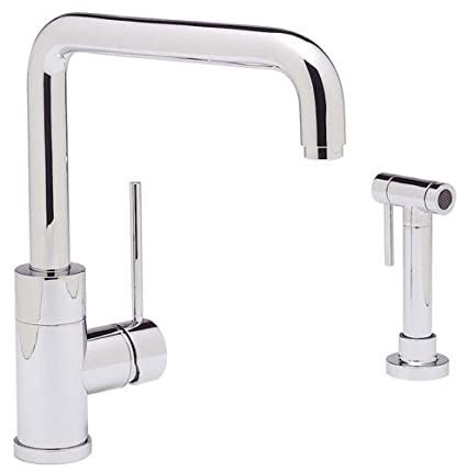 Blanco 440603 Purus I Kitchen Faucet with Metal Side Spray ...