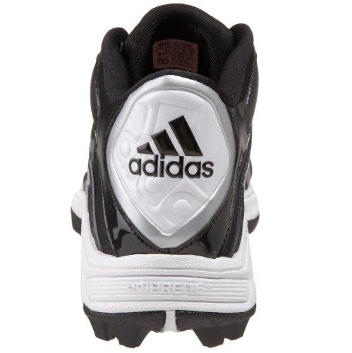 Adidas Mannen Verschroeien Vernietigen Md Medio Voetbalschoen Zwart / Running Wit / Zwart